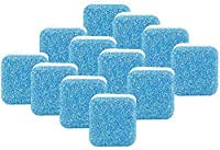 Washer Machine Cleaner Tablets,Effervescent Tablet Washer Cleaner,Solid Washing Machine Cleaner With Triple Decontamination Remover,For Front Load And Top Load Washers (12pcs)