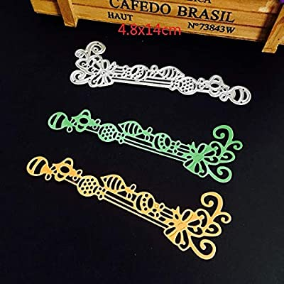 Lace Dies Cutting Die Scrapbooking Craft Metal Cut for DIY Paper Cards Making Valentine's Day Wedding Decorative
