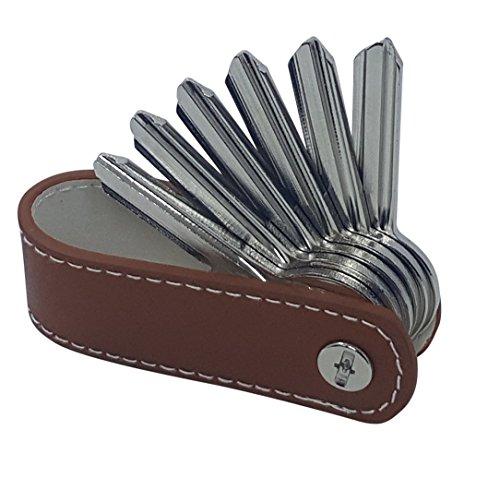 Der Key-Organizer von KliSa aus echtem Leder - das Accessoire für den Mann! (Braun)