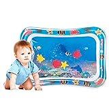 Wassermatte Baby, Eletorot Aufblasbare Tummy Time Baby Wasser-Spielmatte mit Spaß...