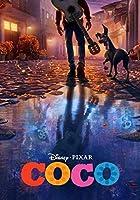 キャラクターポスター、映画ポスター、リメンバーミー COCO ディズニーポスター A4サイズ(21x30cm)