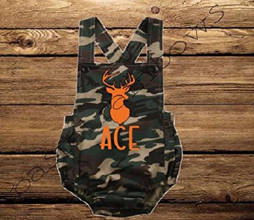 Custom Personalized Boys Camo Birthday Ranking TOP20 De Branded goods Outfit-1st Outfit-Camo