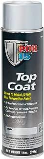 POR-15 46018 Top Coat Silver Spray Paint, 15. Fluid_Ounces