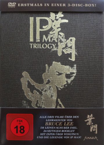 Ip Man Trilogy 3-Disc-Box (Im Leinen-Hardcover plus Booklet) [3 DVDs] [Special Edition]