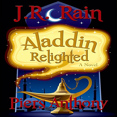 Aladdin Relighted audiobook cover art