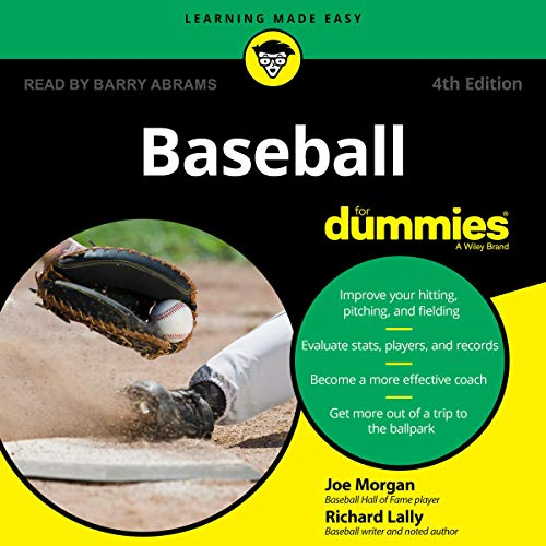 Couverture de Baseball for Dummies, 4th Edition