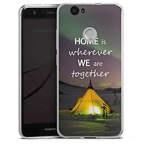 DeinDesign Slim Case Silikon Hülle Ultra Dünn Schutzhülle für Huawei Nova Heimat Zelten Natur