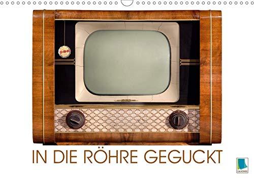 Fernseher der 1950er bis 70er Jahre: In die Röhre geguckt (Wandkalender 2020 DIN A3 quer): Philips, Blaupunkt, oder Nordmende: Nostalgische Fernseher (Monatskalender, 14 Seiten ) (CALVENDO Hobbys)