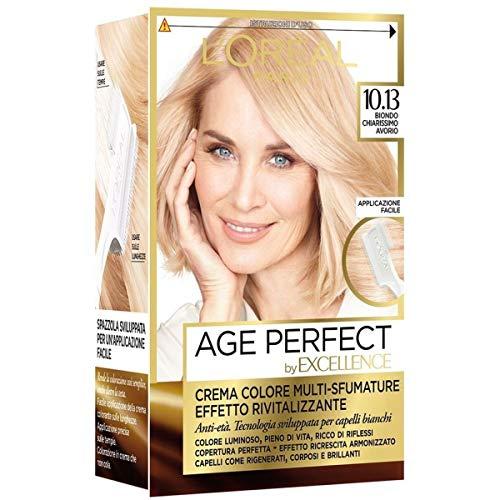 Haarfärbemittel Excellence Age Perfect 10,13 Licht blond