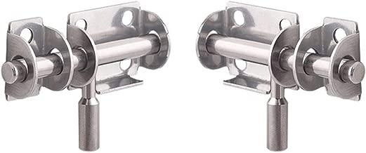 negro DOITOOL 1 pieza pestillo de cerrojo de la cerradura de la puerta del cerrojo para la puerta la cerca los muebles del gabinete el cerrojo de la puerta de seguridad con tornillos
