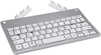 Wyyggnb Gaming Tastatur Computer Faltbare Drahtlose Tastatur Unterst tzt DREI Systeme Geeignet F r Mobile Tablets Computer Bluetooth 3 0 Wireless-Technologie Color Gray Schätzpreis : 49,75 €