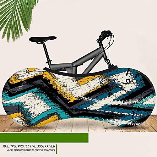 ASADVE Elastischesfahrradreifen Paket Fahrradhülle Bike Cover Graffiti-Serie Staubdicht Und Sonnenschutz Reifenhülle Für Mountainbike-9
