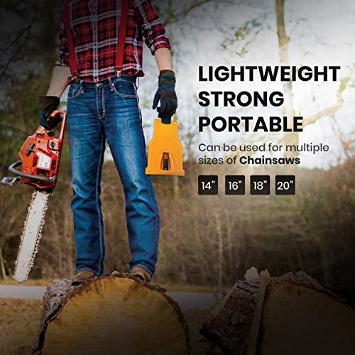 Chainsaw Sharpener Value KIT | Powersharp Chain Saw Blade sharpeners + Electric Drill Bit Files + Sharpening Stone file Grinder bits kit.Sthil,