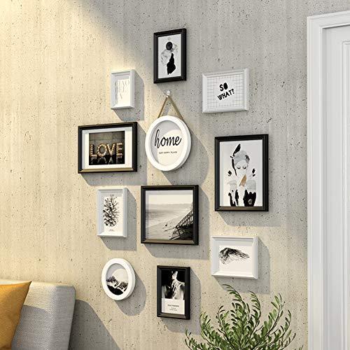 Fotobehang hangen, Met Volledige grootte Opknoping Sjabloon Muur Montage Ontwerp Collage Fotolijst Voor Eetkamer Slaapkamer