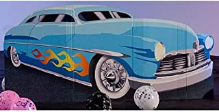 3 ft. 4 in. 50's Roadster Car Standee