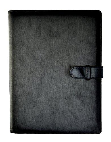Arpan, cartellina portadocumenti professionale con 36 bustine, formato A4, colore: Nero