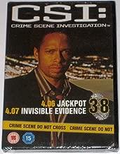 CSI: Crime Scene Investigation 38 - 4.06 Jackpot / 4.07 Invisible Evidence [DVD]