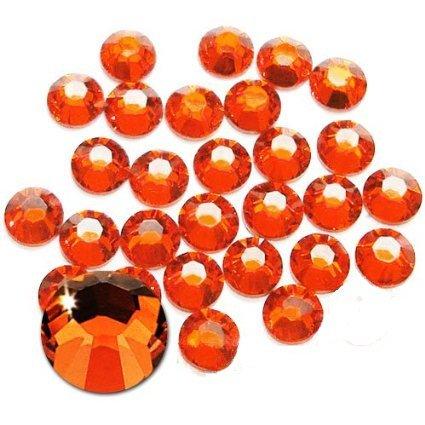 Jollin Glue Fix Crystal FlatBack Rhinestones (ss20 576pcs, Lt Siam)