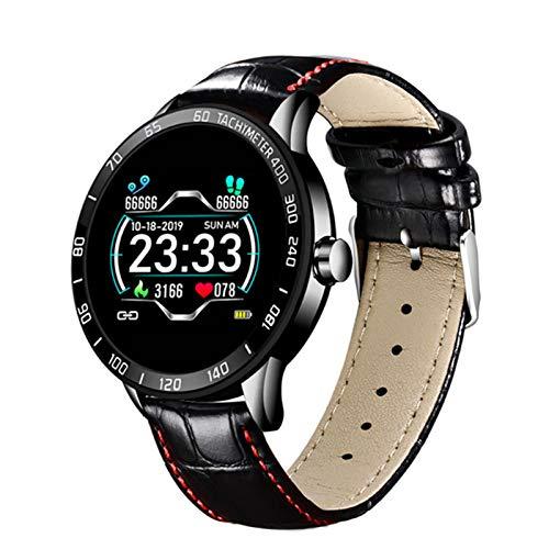 ZYY Smart Watch ECG Muestra La Frecuencia Cardíaca Y La Presión Arterial Smart Belt Fitness Tracker PK N58,D