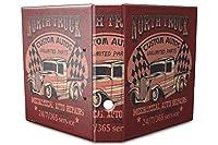 バインダー 2 Ring Binder Lever Arch Folder A4 printed North truck