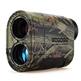 Gogogo 6X Hunting Laser Rangefinder Range Finder Distance Measuring Outdoor Wild 650/1200Y with Slop...