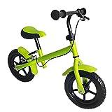 Fair Style Kinder Laufrad, mit Handbremse, Räder ca. 30,3 cm (12 Zoll), apfelgrün grün, Lernlaufrad, Lauflernhilfe, Roller für Kinder ab 2 Jahren, Model 6924