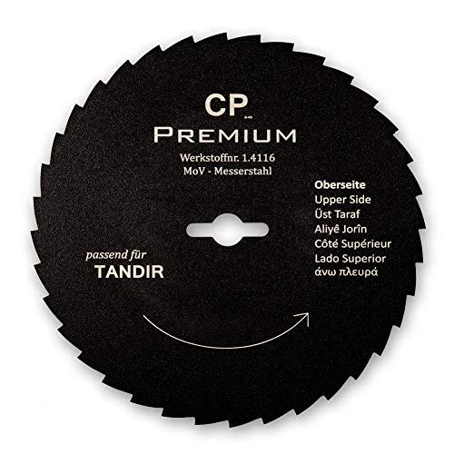 Für Tandir 120 mm Kreismesser mit Teflonbeschichtung Gezahnt Dönermesser Kebapblade