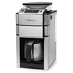 Capresso Coffee Maker 488.05 Best Bean to Cup Coffee Machine with Thermal Carafe for 2020
