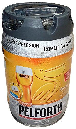 Pelforth Blonde Bier mit Zapfhahn 5 Liter Partyfass 5,8% vol.