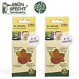 Gruenspecht - Chupete orgánico de caucho natural, 0 – 6 meses, 2 unidades,...