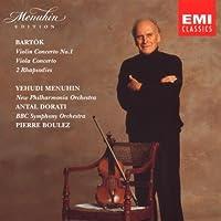 Bartk: Violin & Viola Concert etc