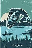 Mein Fangbuch 2020: Vintage Boots Angler Motiv: Fangbuch für Fischer und Angler, halte deine...