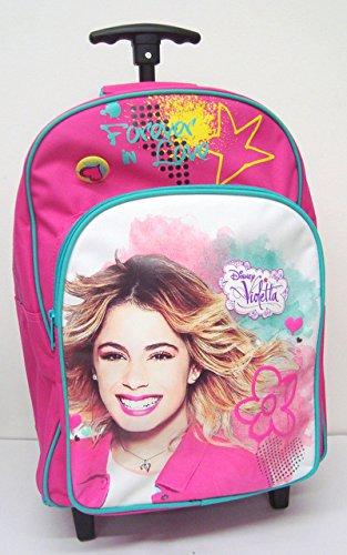 Zaino Trolley scuola elementare - Disney Violetta Forever (Dim. 42x32x17 cm)