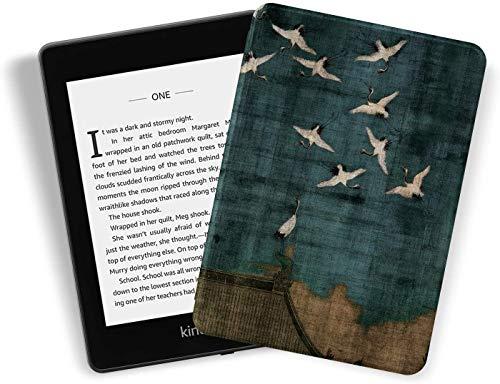 Kindle Paperwhite [10Th Generation-2018, Modelnummer: PQ94WIF]- Duurzame Smart Lederen Cover Past Amazon De nieuwste…