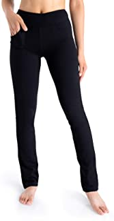 Yogipace, 5 Pockets, Petite Women's Straight Leg Yoga Pants Long Stretch Dress Pants Slim fit Workout Pants Travel Commute...