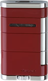 Xikar Allume Double Jet Red Lighter