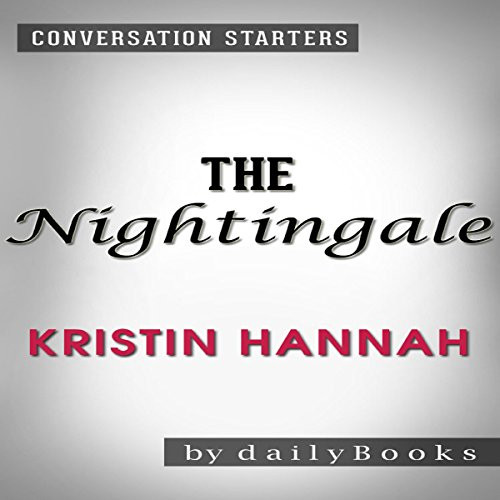 The Nightingale by Kristin Hannah | Conversation Starters audiobook cover art