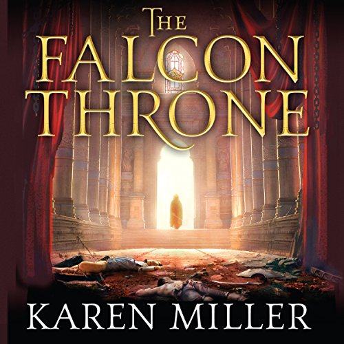 The Falcon Throne audiobook cover art