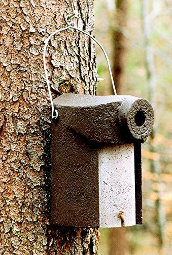 Schwegler Naturschutzprodukt Nisthöhle Nistkasten Vogelhaus Typ 3SV Flugloch 34 mm mit Marderschutz