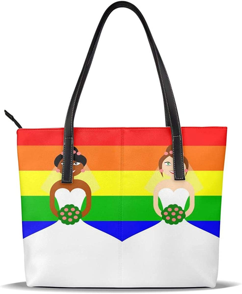 Gay Brand Cheap Sale Venue Pride Flag Wedding Large special price Lgbtq Lesbian PU Pattern Printed Leather