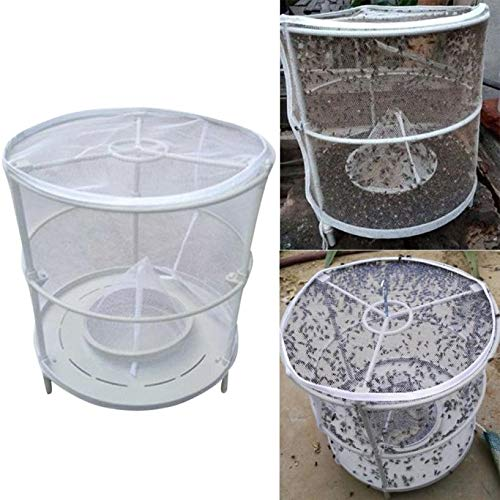 Shoppy Star Dispositivo de trampa para moscas de Drosophila rojo desmontable Flycatcher 2018 Dispositivo de trampa para moscas atrapador de moscas atrapador de moscas atrapador de moscas en el jardín de casa: China