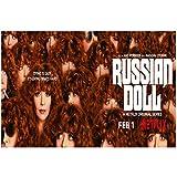 Muñeca rusa Natasha Lyonne Tv Series Wall Art Poster Canvas Painting Print Home Decoración de pared ...