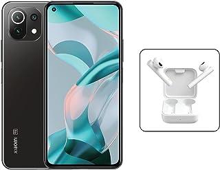Xiaomi 11 Lite 5G NE Dual SIM Amoled Display Tuffle Black 8GB RAM 128GB + Mi True Wireless Earphones 2 Basic