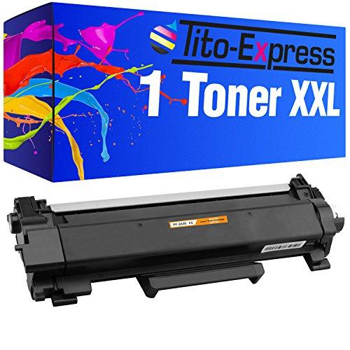 Tito-Express Platinum Serie 1 Toner cartridge XXL compatibel met Brother TN-2420 HL-L2310D HL-L2350DW HL-L2357DW HL-L2375DW HL-L2370DN DCP-L2510D MFC-L2735DW DCP-L2537DW DCP-L2550DN MFC-L2710DN