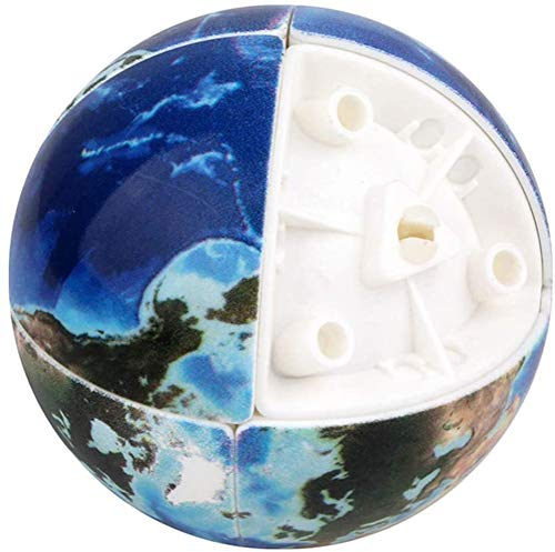 2x2x2 Speed ​​Cube 3D Arc Surface UV Cube Volwassenen Second-Order Earth nieuwe exotische Decompressie Toy Kids Original Puzzle Twist Travel Toys voor Gift