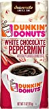 Dunkin' White Chocolate Peppermint Flavored Ground Coffee, 11 Ounces (Packaging May Vary)