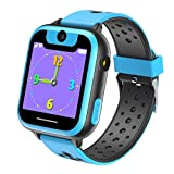 Kids Smart Watch, Vannico Touch Screen Games Smartswatch with Calls Camera for Children Girls Boys Birthday or Festival Gift Smartwatch Bracelet (S6G-blue)