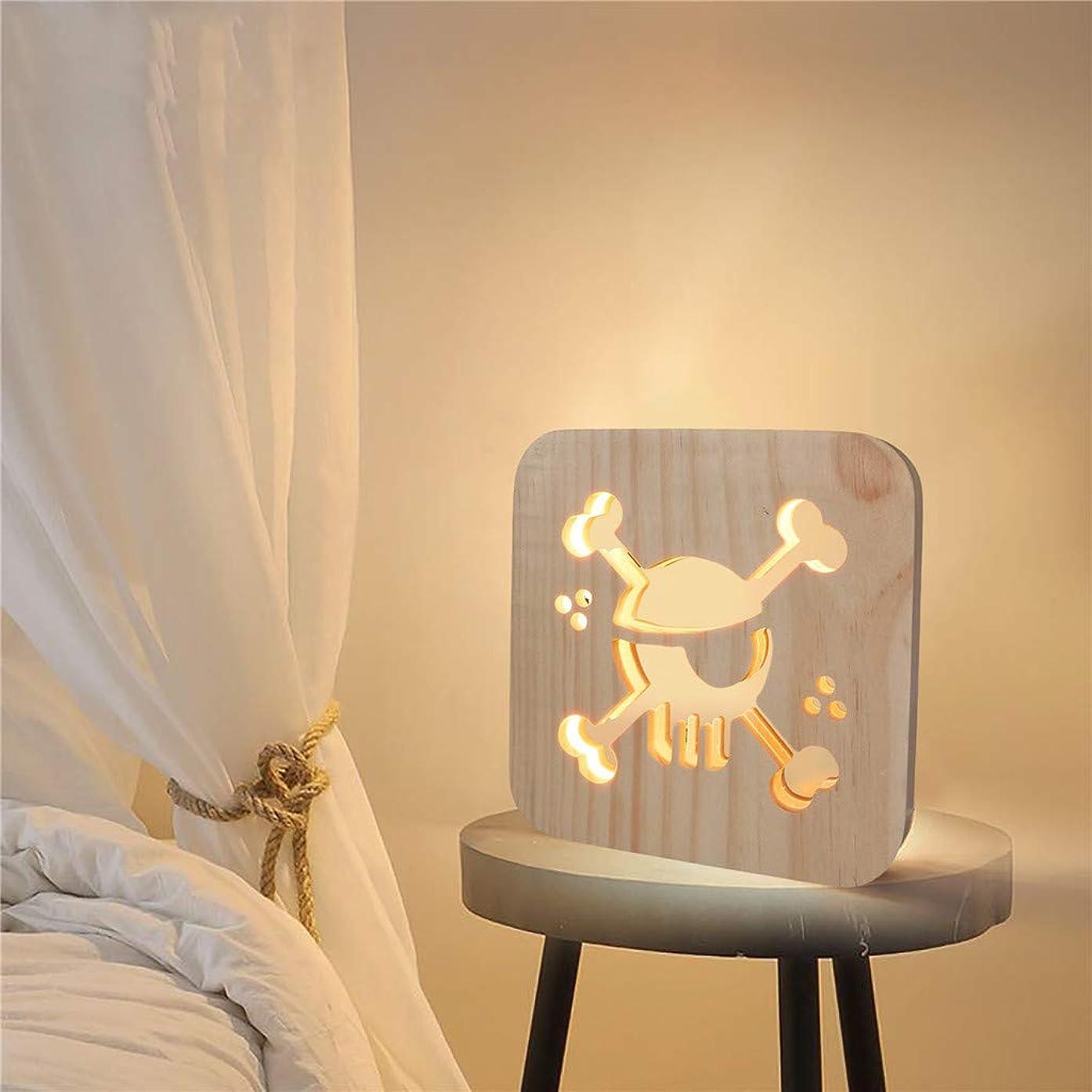 LED Creative Wooden Brand Bedside Lamp, SHUDAGE Craft Bedroom Decoration Nightstand Lamp for Reading/Studying/Relaxation/Bedtime, Desk Light for Office, Bedside, College Dorm, Living Room (B)