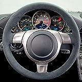 LUVCARPB Housse de Volant de Voiture, adaptée pour Porsche 997 Turbo 911 2006, Accessoires intérieurs Cousus à la Main Bricolage