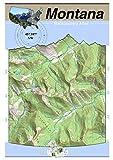 45°107° NW - Hardin, Montana Backcountry Atlas (Topo)